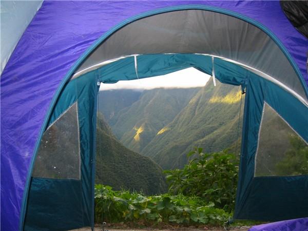 Träumen auf dem Inca Trail