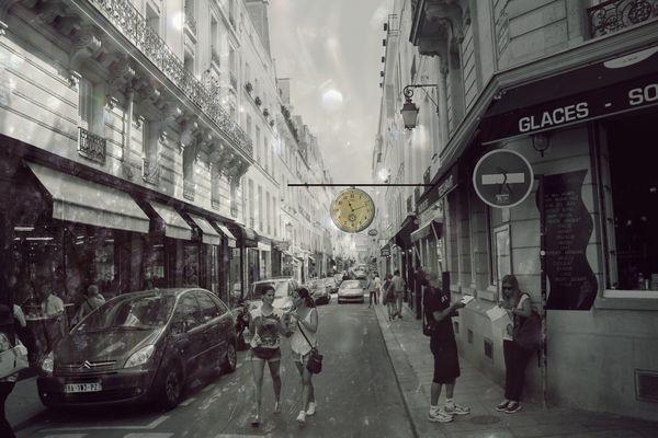 Träumerei von Paris