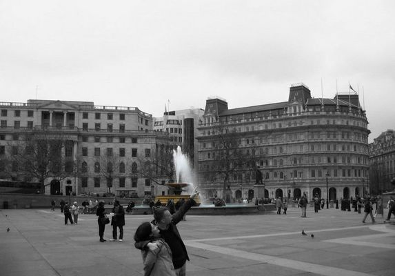 Trafalgar Square London IV