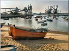 Trafaria...bourg de pêche en face a Lisbonne.