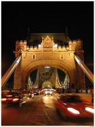 Traffic at Tower Bridge