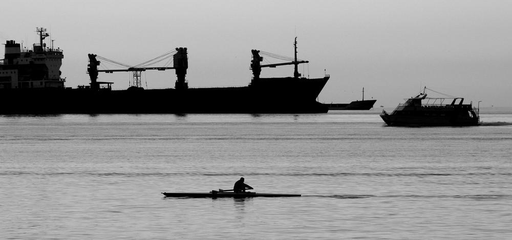 Traffico sul golfo di Trieste