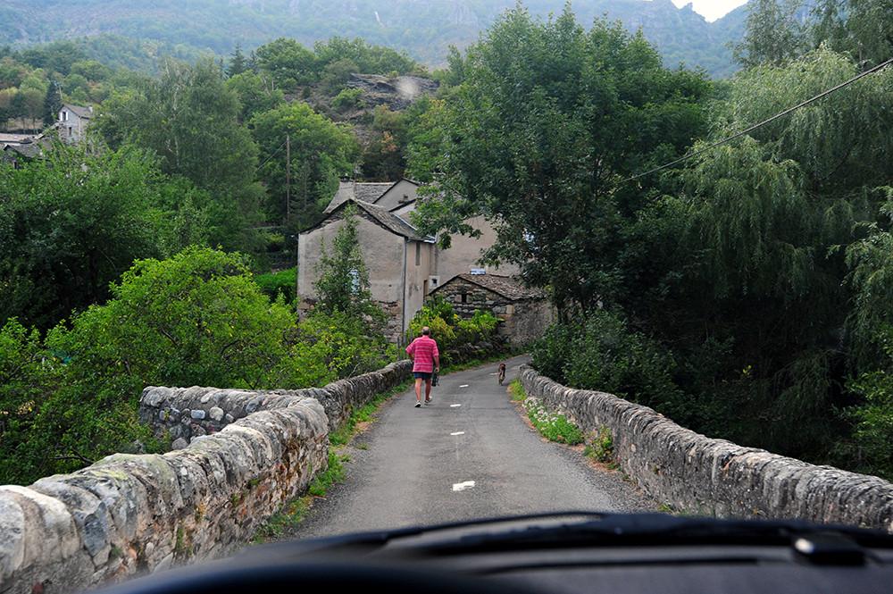 Trafic à grande distance en Cevennes - Fernverkehr in den Cevennen