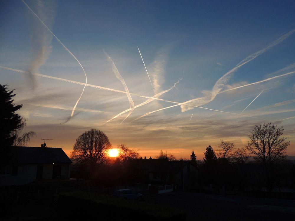 Trafic dans le ciel