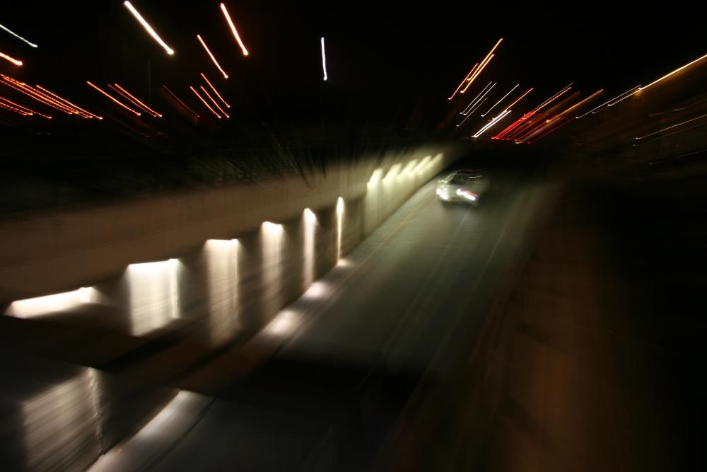 trafic nocturne à Douai