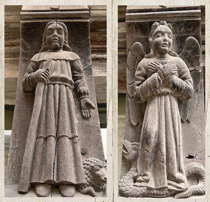 Tragende Engel