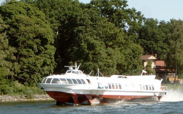 """Tragflächenboot Typ """"Meteor"""""""
