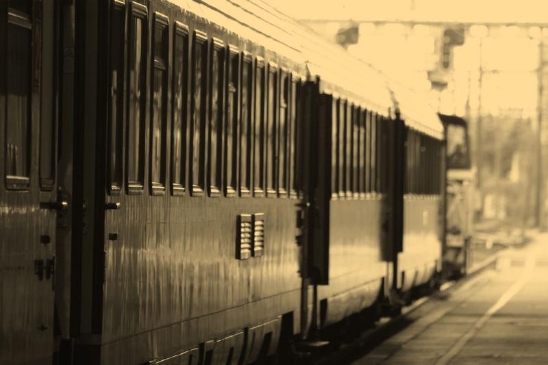 train a l'arret