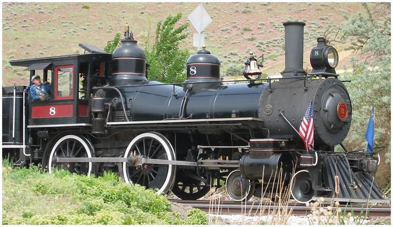 Train in Nevada #2
