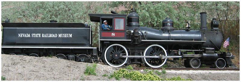 Train in Nevada