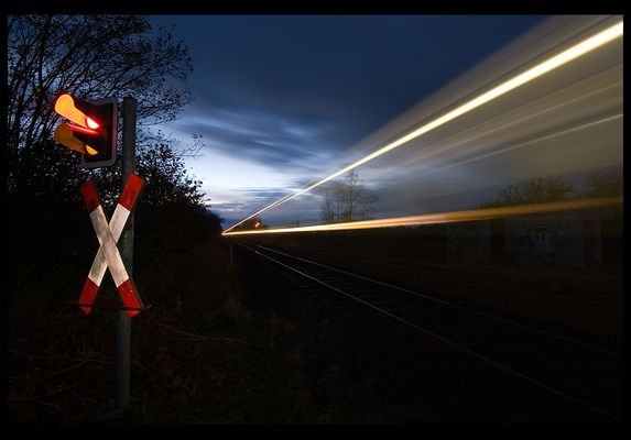 Train in the Dark
