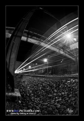 Train of light