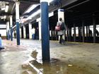 Train station in NYC