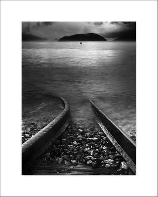 Train Tracks to Bowyer Island