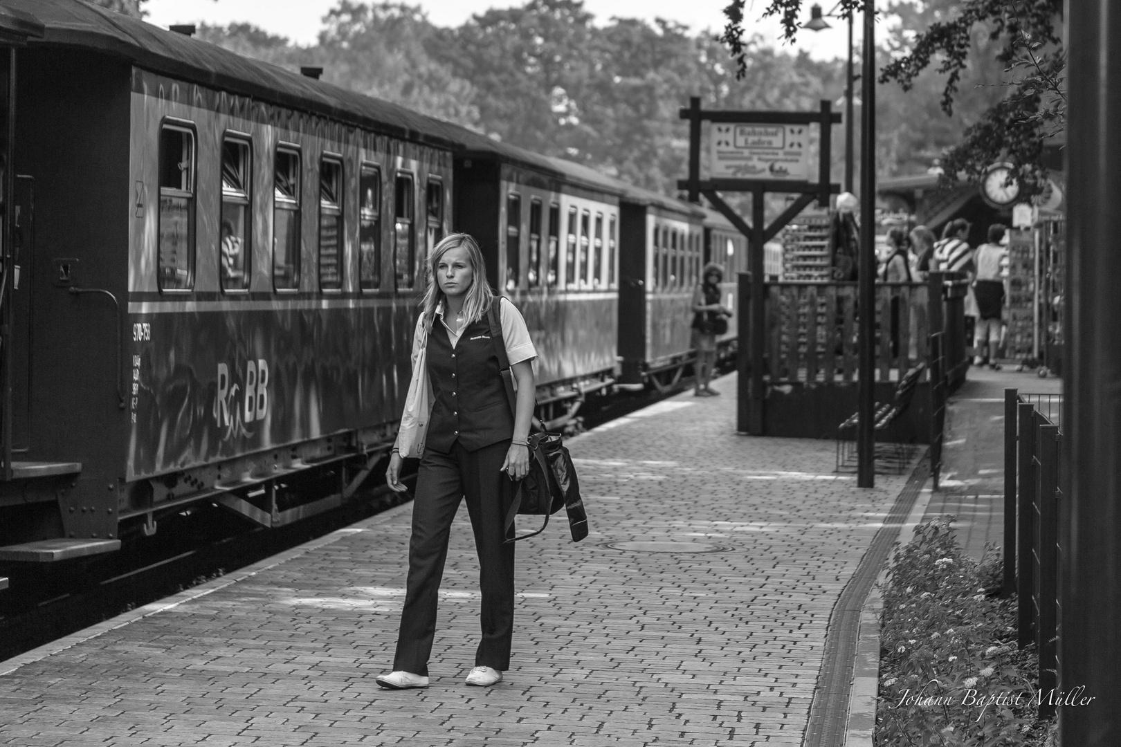 Train: Woman at Work