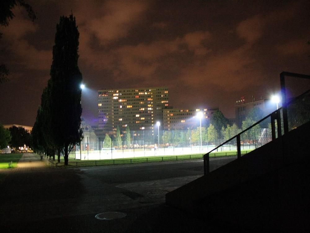 Training auf dem Fussballplatz
