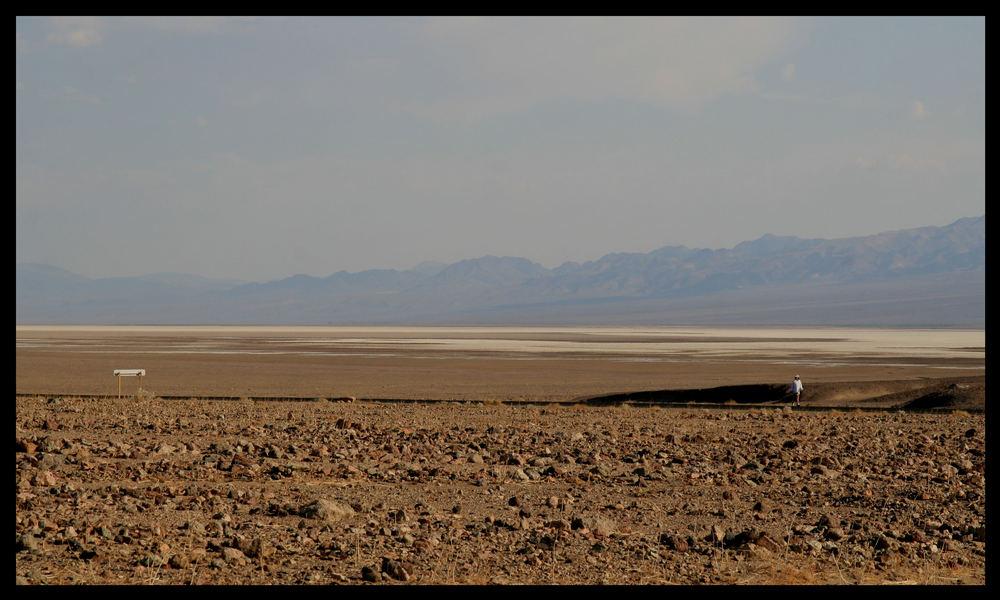 Training bei 56° C im Death Valley