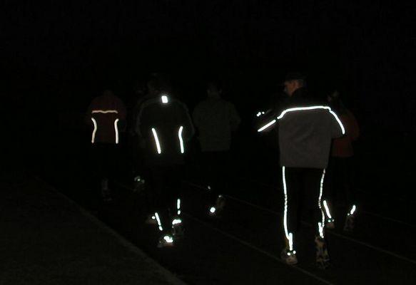 Training bei Nacht