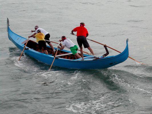 Training in Venedig