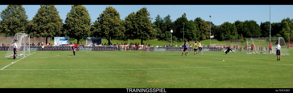 Trainingsspiel