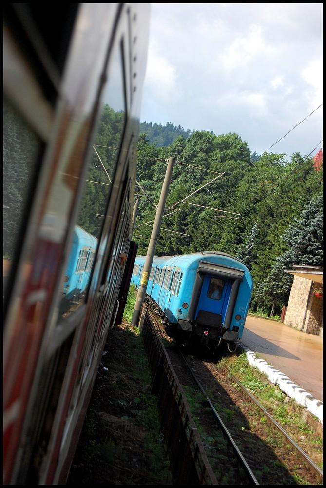 trains locaux de transylvanie