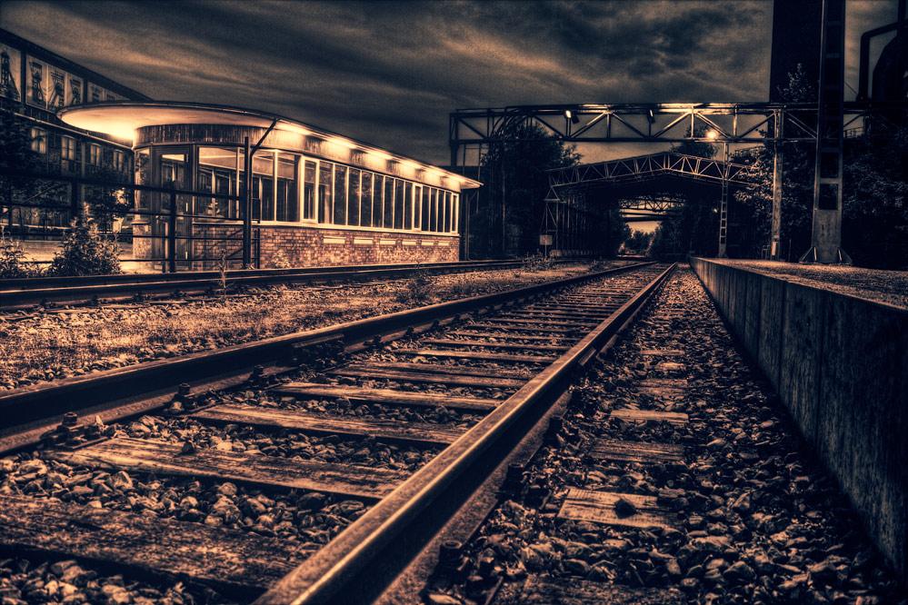 Trainstation - Cinematic Look