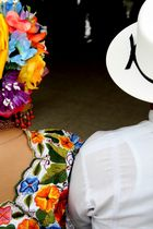 Trajes típicos de baile en Yucatán, México
