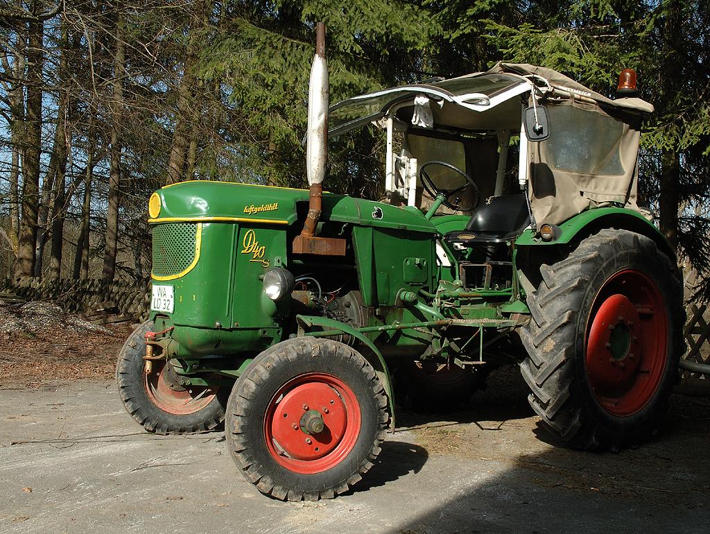 "Traktor Deutz D40s ""luftgekühlt"""