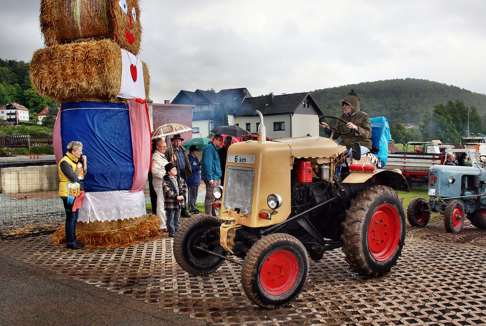 Traktorenparade-Sonneberg