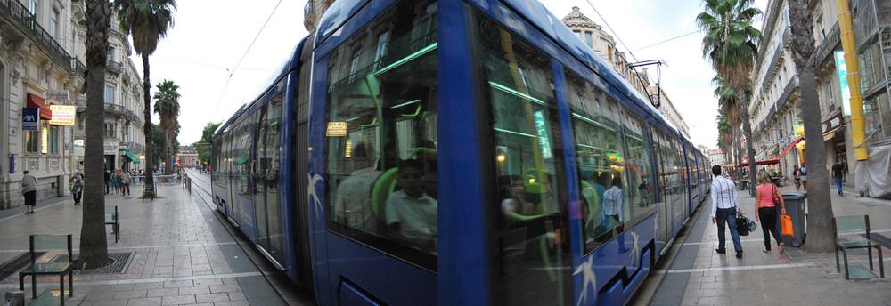 tram a montpellier