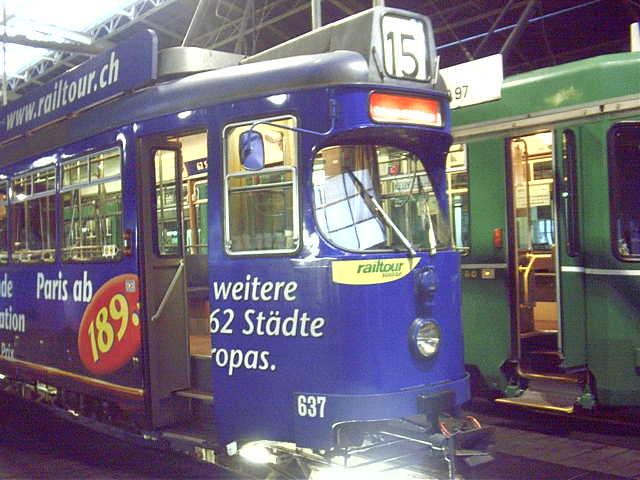Tram der BVB