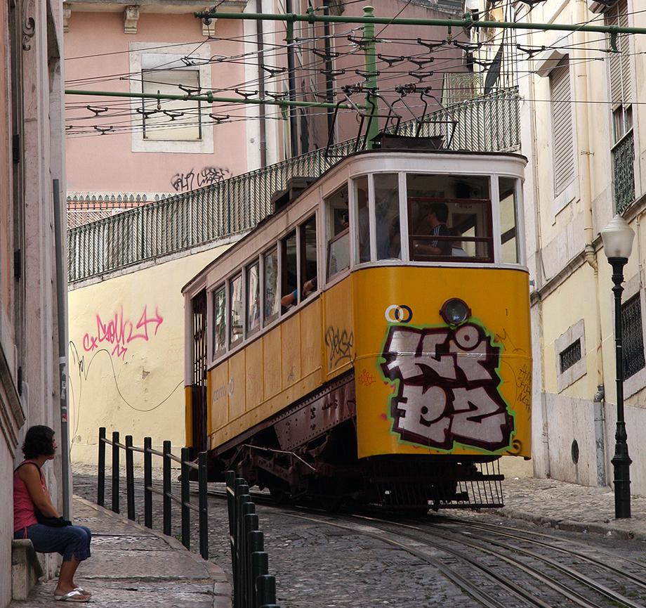 """""""Tram in Lisbon"""""""