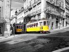 Tram in Lissabon 2