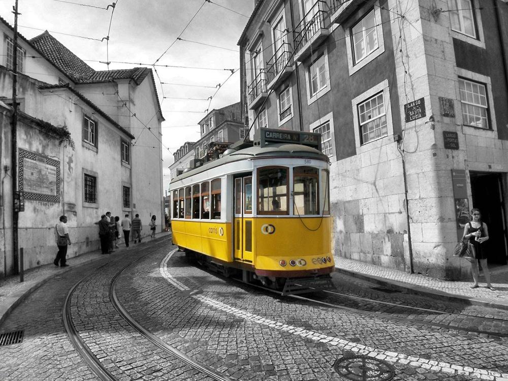 Tram in Lissabon 5