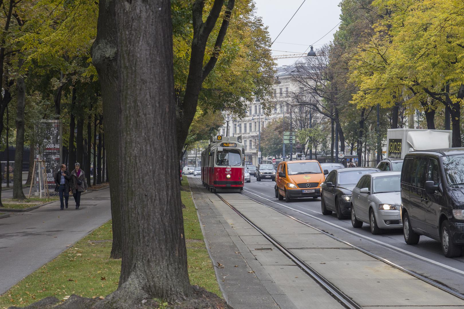 Tram in Wien