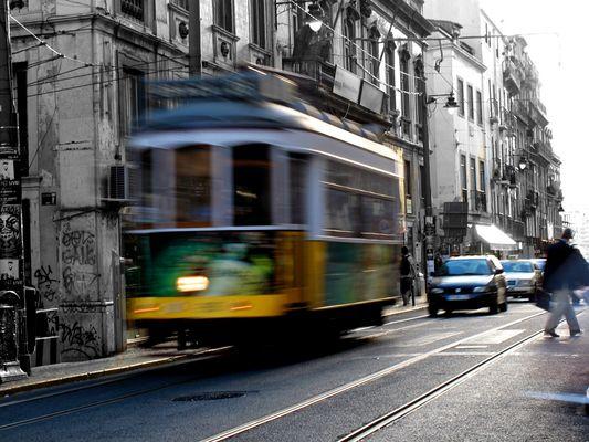 Tram of Lisboa Part 1
