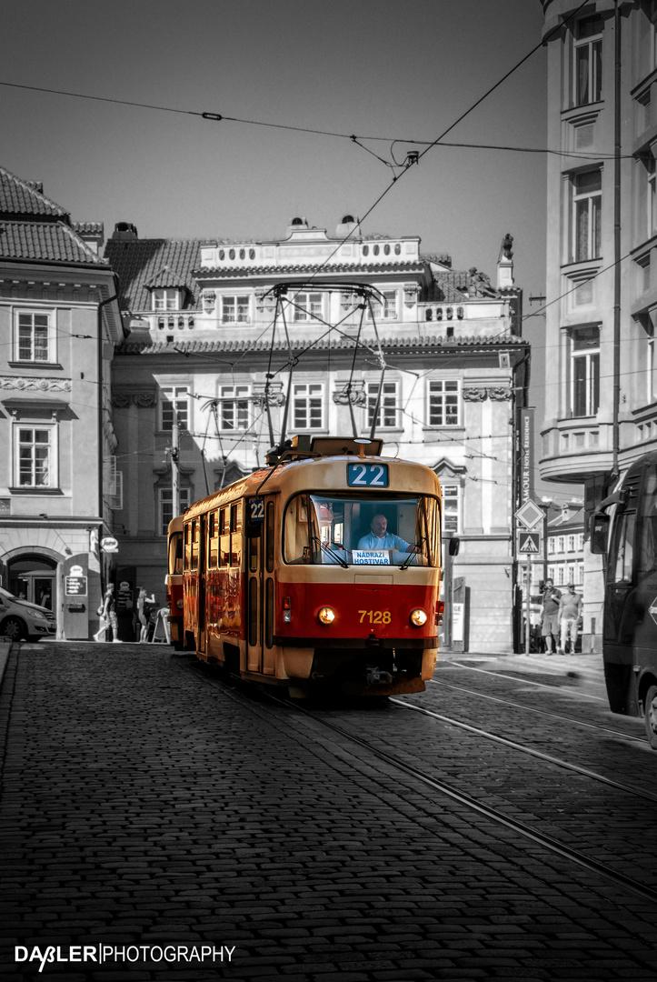 Tram of Prague