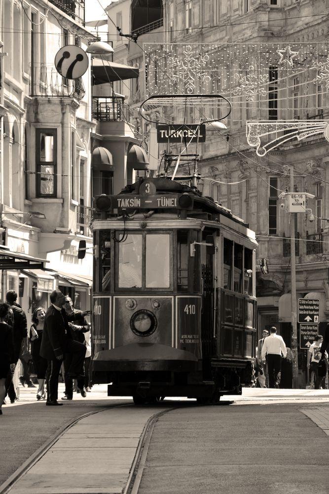 Tram Taksim - Tünel