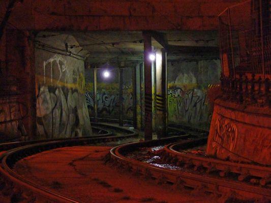 Tram Underground - Budapest