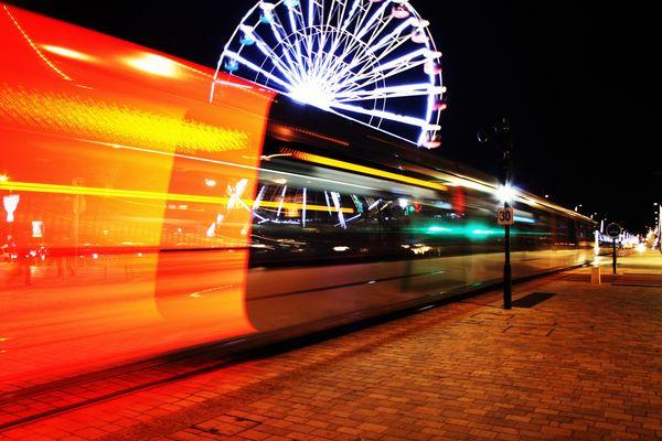 tram way de nuit