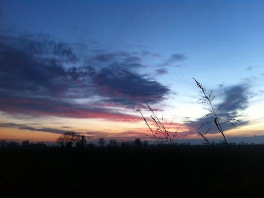 Tramonto - 3 novembre 2013