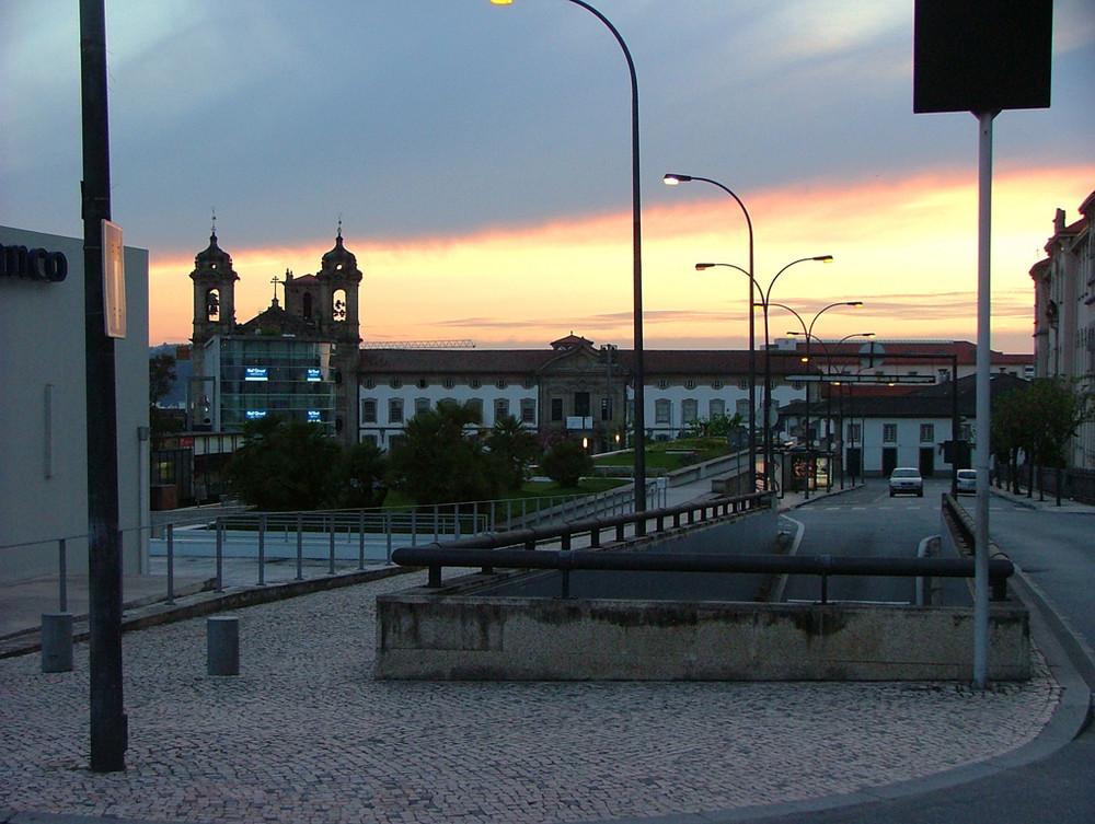 Tramonto a Braga