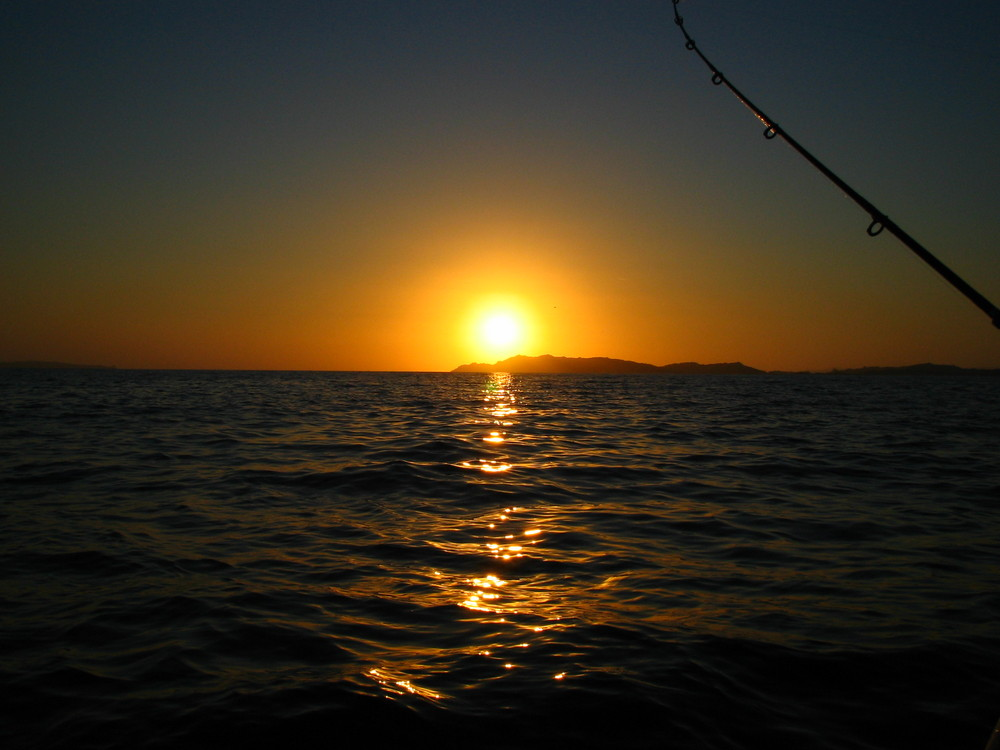 tramonto a budelli
