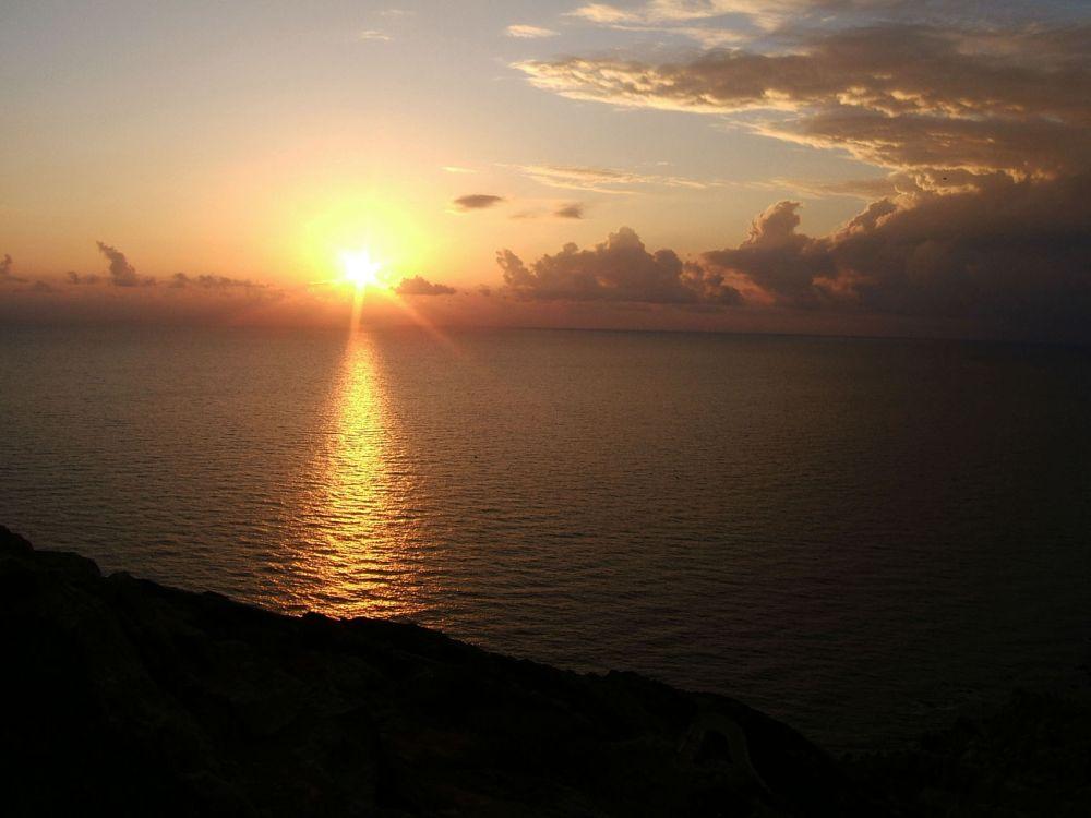 Tramonto a Capo Sandalo ( Isola di S. Pietro)