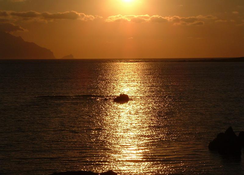 tramonto a favignana