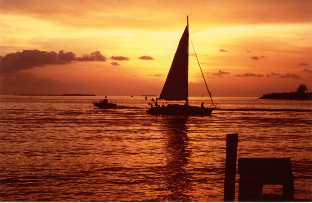 tramonto a Key West Florida
