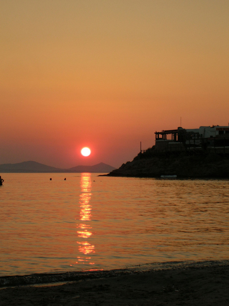 Tramonto a Naxos
