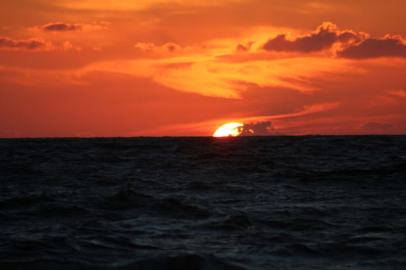 tramonto a Palinuro