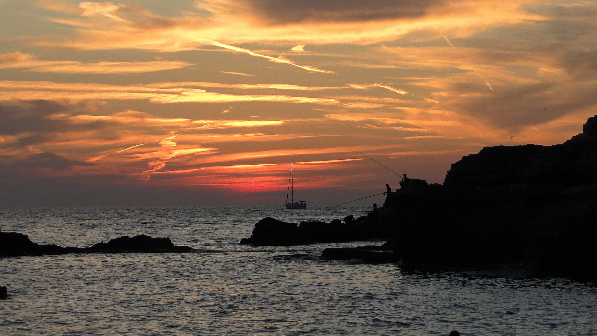 tramonto a Pola