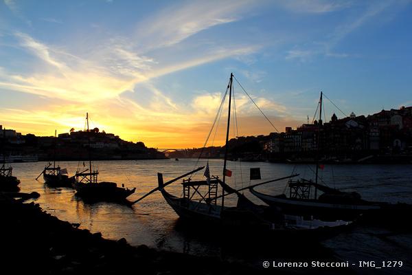Tramonto a Porto